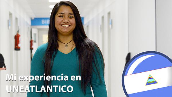 Falamos com Valeria Urbina Vado, estudante nicaraguense do curso de Administração e Direção de Empresas