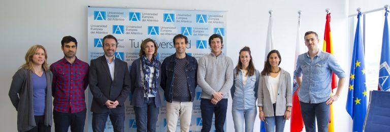 Delegação de professores da Howest Hogeschool na Bélgica visita a UNEATLANTICO