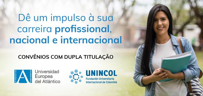 Convênio de dupla titulação entre a UNEATLANTICO e a Fundación Universitaria Internacional de Colombia (UNINCOL)