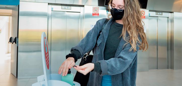 UNEATLANTICO realiza atividades acadêmicas presenciais seguindo medidas de segurança e higiene estabelecidas pelas autoridades sanitárias
