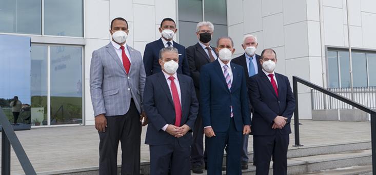 Ministro e Vice-Ministro da República Dominicana visitam a UNEATLANTICO