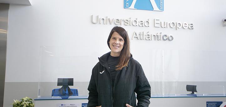 A medalhista olímpica e docente na UNEATLANTICO, Ruth Beitia, comenta o papel da mulher no âmbito esportivo
