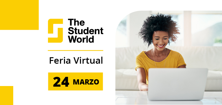 A Universidad Europea del Atlántico participará da feira virtual The Student World Brasil 2021
